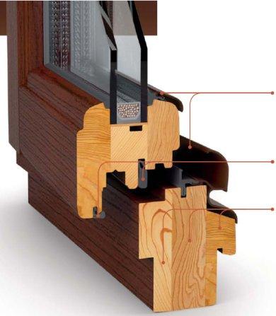profil drewniany